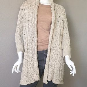 Tommy Bahama Chunky Cable Knit Cardigan